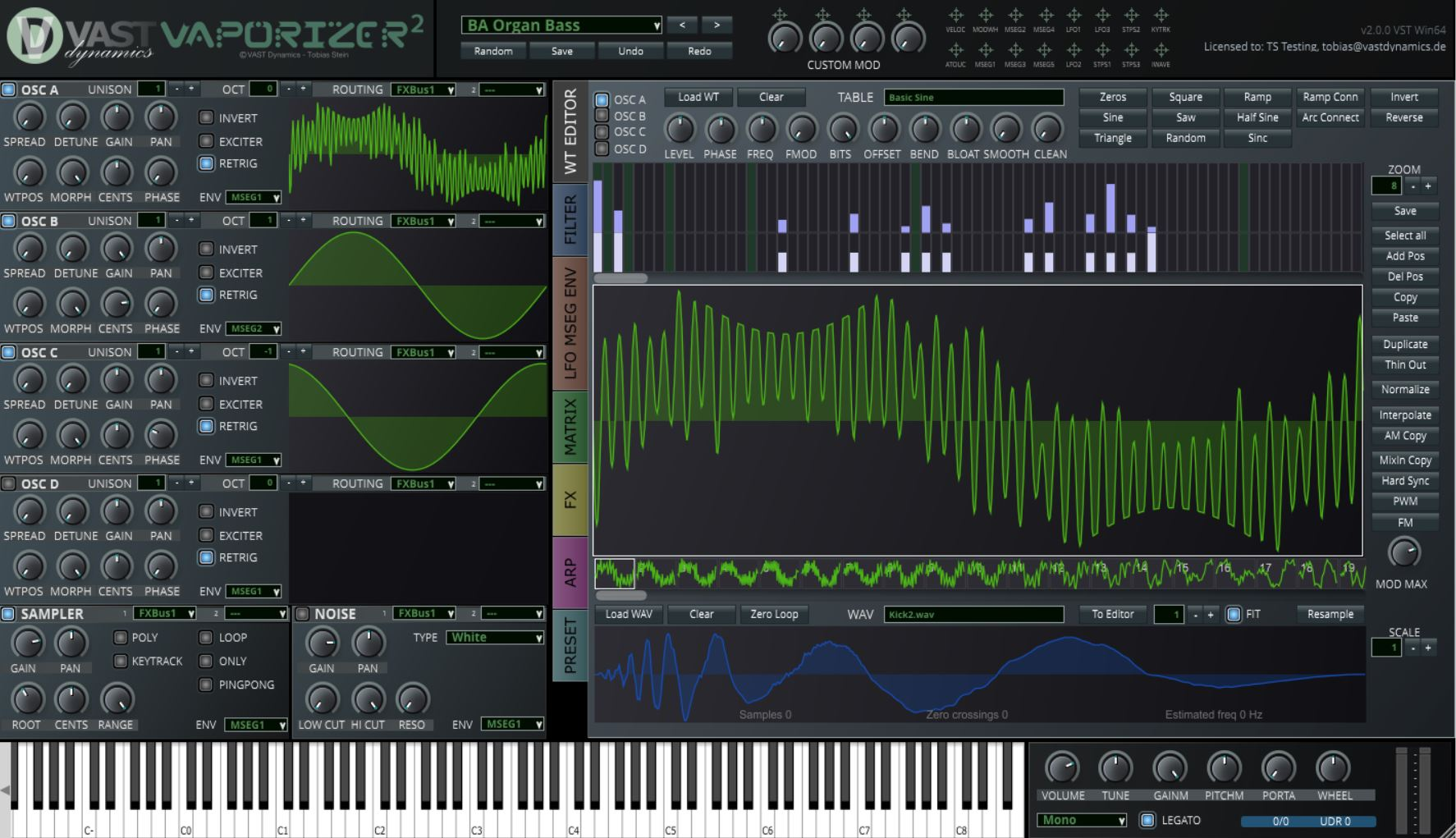 On alias free oscillators – the holy grail of wavetable synthesis